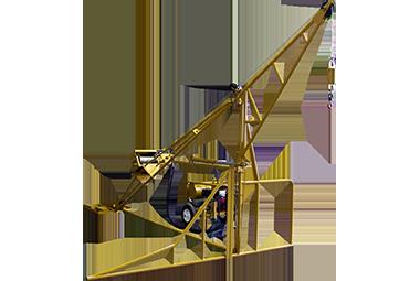 All Seasons Equipment 1000 Hydraulic Swing Hoist