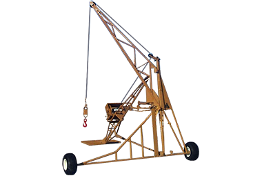 All Seasons Equipment 2000 Hydraulic Swing Hoist